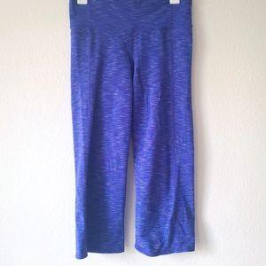 Athleta Kickbooty Wide Leg Capri Blue